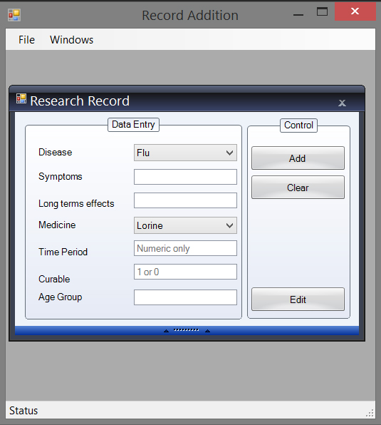 Research Record