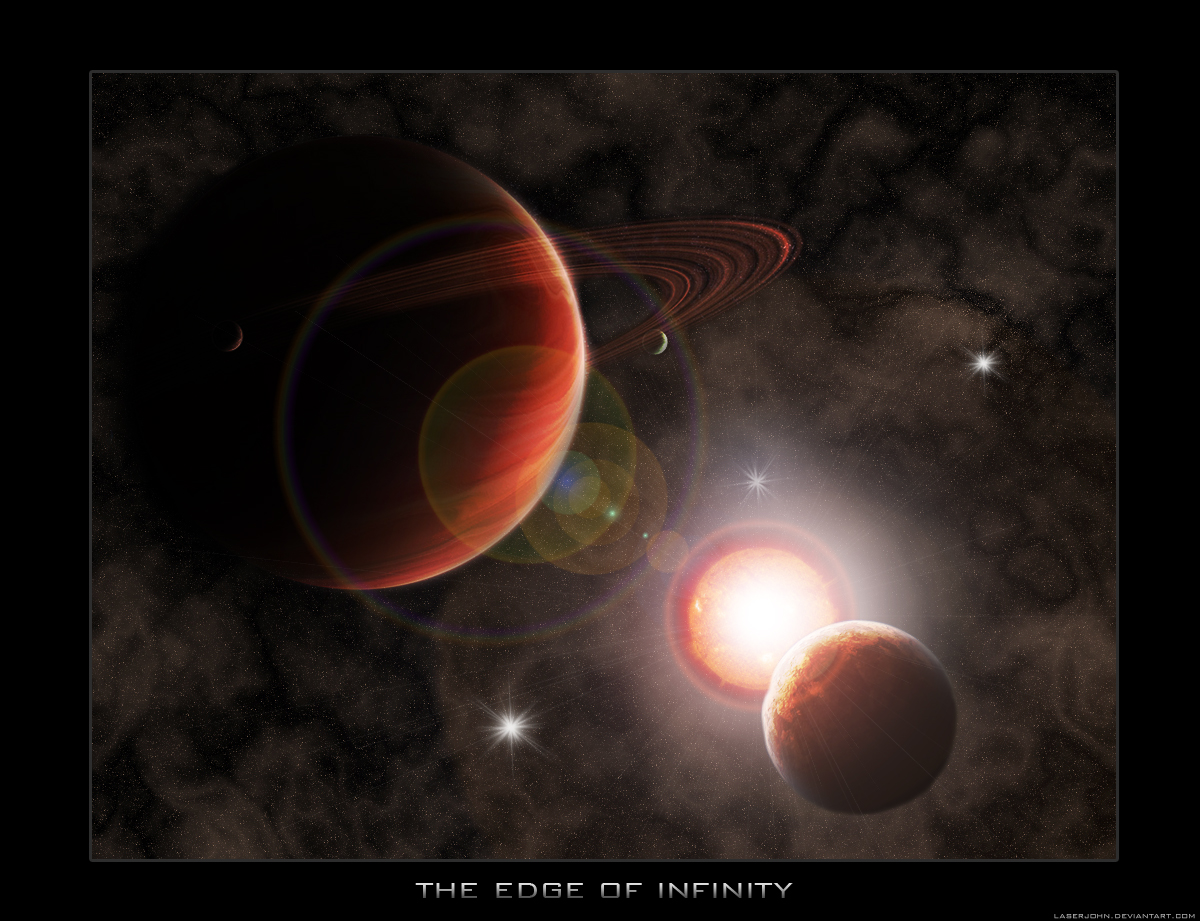 """""""The edge of infinity"""""""