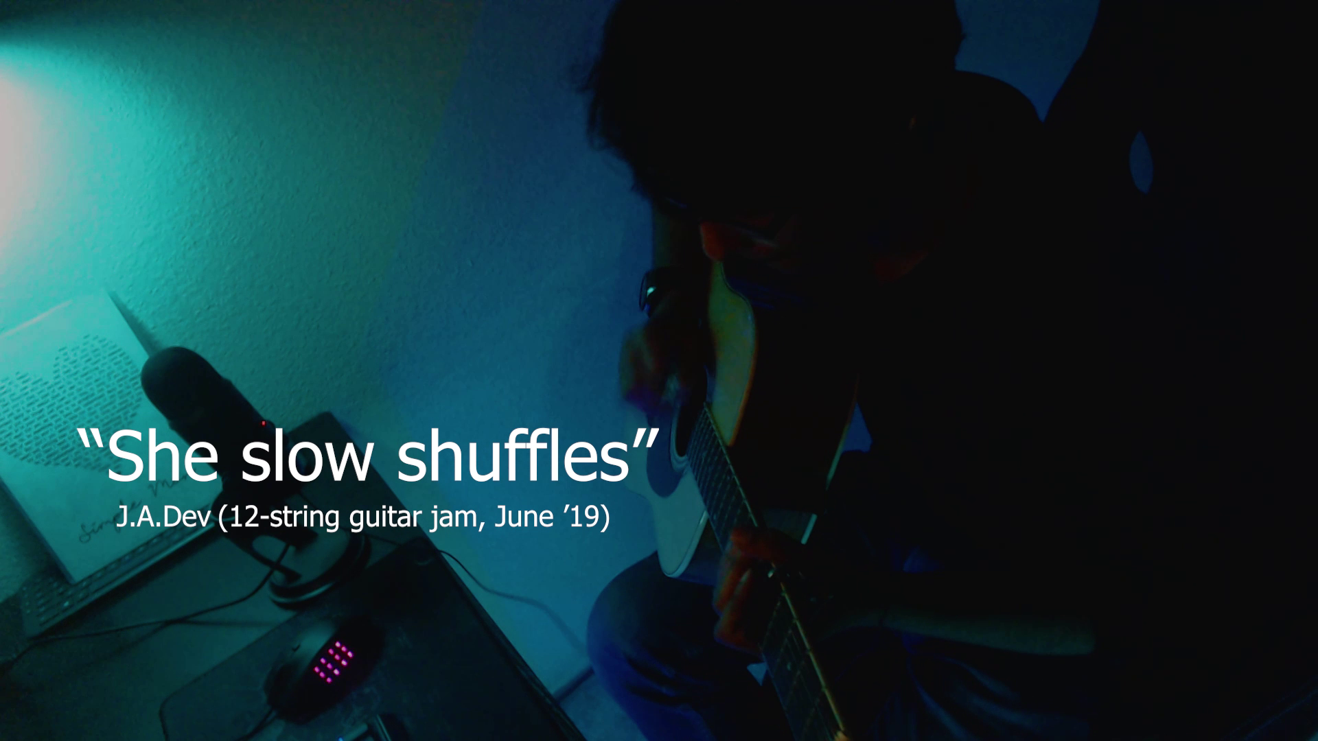 """She Slow Shuffles"" (12 string-guitar)"